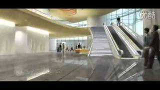 Shanghai Tower: video ad