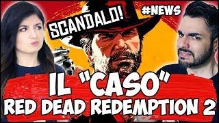 RED DEAD REDEMPTION 2: LO SCANDALO + SONY E IL MESSAGGIO CHE BLOCCA PS4 #NEWS