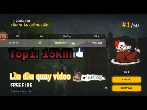 Xxx Mp4 Garena Free Fire Lần đầu Quay Video Top1 15 Kill Gamer XXX 3gp Sex