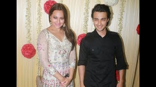 Sonakshi Sinha With Aayush Sharma At Ekta Kapoor Diwali Party 2017