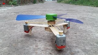 How to make Helicopter Propeller with 3 DC Motor