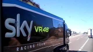 Valentino Rossi Moto GP 2016 Truck&Trailer