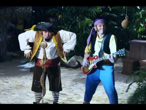 Jake y los piratas del país de Nunca Jamás Video Musical Tu esqueleto mover