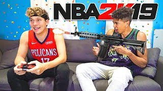 Everytime I Get Scored on in NBA 2K19 I Get Shot In Real Life