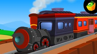 Chuk Chuk Rail Gadi - Hindi Animated/Cartoon Nursery Rhymes For Kids