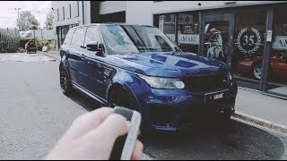 Land Rover Range Rover Sport SVR - Start Up & Sound