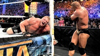 WWE Wrestlmaina 29 Triple H vs Brock Lesnar FULL MATCH