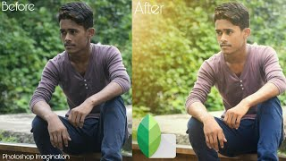 Snapseed Retouch Tutorial | Soft Light Effect