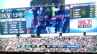 Marshawn Lynch Goin Hyphy at Raiders Game (Too Short Blow The Whistle mixed)
