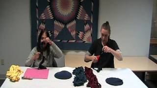 DIY Crafts for the Uncrafty Ruffled T-Shirt Scarf