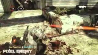 GEARS OF WAR 3 GAMEPLAY! AND ACTUAL FOOTAGE!!!