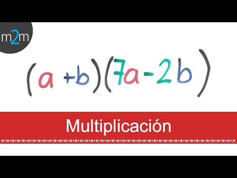 Multiplicación de polinomios│Polynomials multiplication