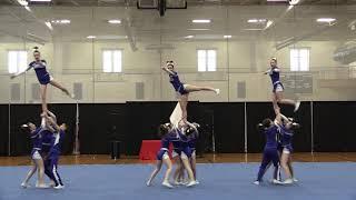 Attleboro High School Co-Ed Cheerleading 2018