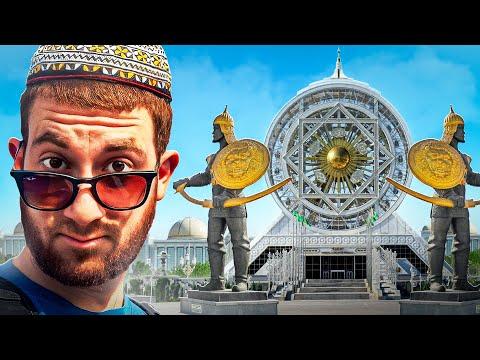 World s Strangest City ASHGABAT TURKMENISTAN