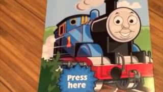 Birthday card - Thomas the Tank Engine rap