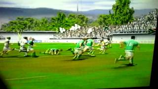 Great try on rugby 08