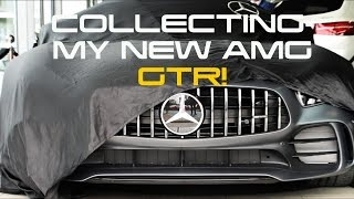 Collecting My New Mercedes AMG GTR!
