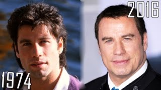 John Travolta (1974-2016) all movies list from 1974! How much has changed? Before and Now!