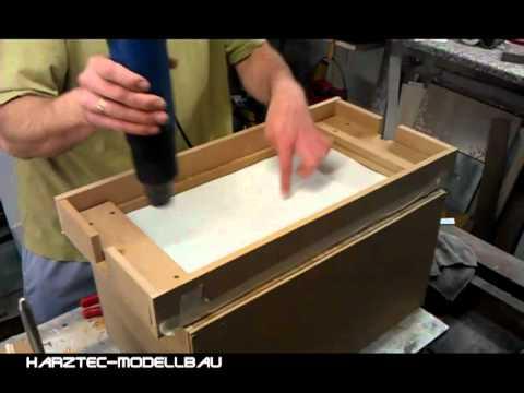 Mini Springer Tug Rumpf aus Polystyrol tiefziehen