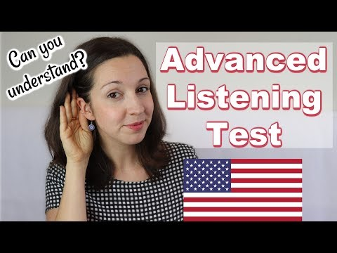 Xxx Mp4 Advanced English LISTENING Quiz Can You Understand 3gp Sex