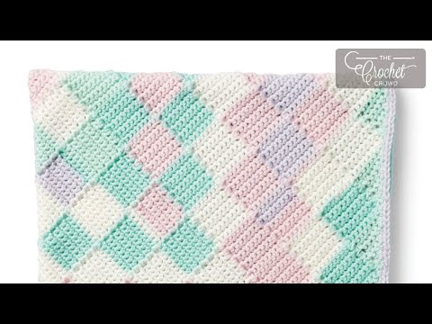 How to Crochet Entrelac