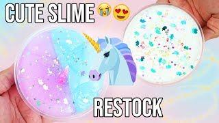 Slime Shop Restock! Cute Unicorn Slime!!! - @UniicornSlimeShop 💦
