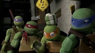 TMNT 2012 |Season 1 / Mikey - All Slap