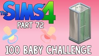 The Sims 4: 100 Baby Challenge - Possessed Shower (Part 72)