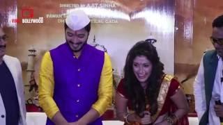 Shreyas Talpade About Manjari Fadnis Backless Saree | Very Funny
