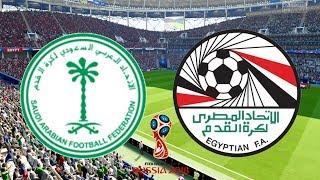 World Cup 2018 - Saudi Arabia Vs Egypt - 25/06/18 - FIFA 18