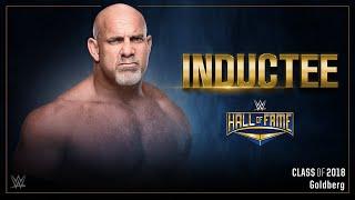 Goldberg to enter WWE Hall of Fame