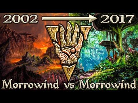 Morrowind vs Morrowind ESO - Side By Side Comparison