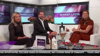 ✅ Young Living Essential Oils on Modern Living with Kathy Ireland
