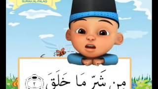 Surah al Falaq by Upin Ipin