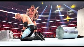 Randy Orton vs Christian - Summerslam 2011 Highlights - HD