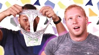 Men Try Thongs For A Day