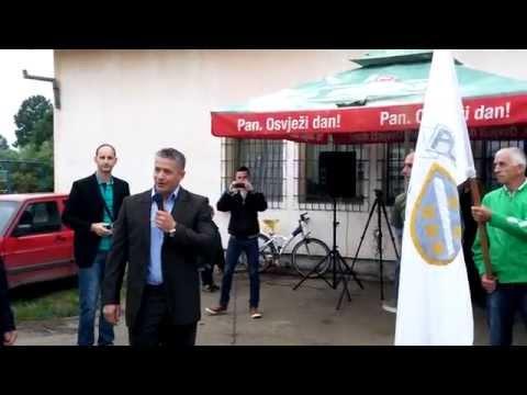 Naser Oric Postrojavanje Prnjavorske cete 22. maj 2015. NKP.ba
