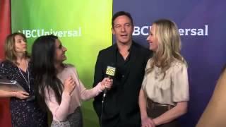 Anne Heche & Jason Isaacs @ NBC Universal's Winter Press Tour | AfterBuzz TV