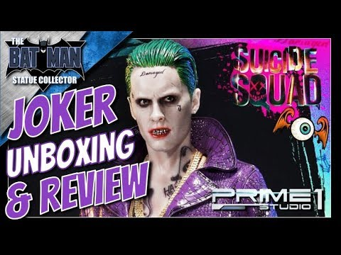 Xxx Mp4 Unboxing Review Suicide Squad Joker 1 3 Scale Statue From Prime 1 Studio 3gp Sex