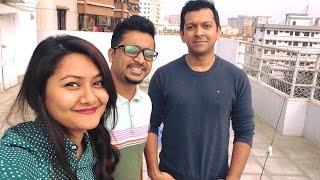 Sandhi Feat Tahsan Tomake chai ( Recording Sessions )