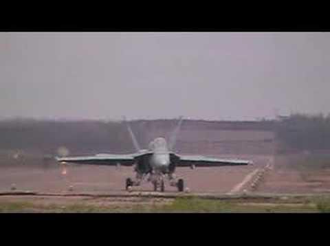 Hornet take-off at Utti