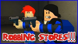 Robber Job in RoCitizens with RonaldOMG!!!