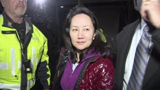 """I am proud of Huawei, I am proud of my country,"" says by Huawei CFO after bail"