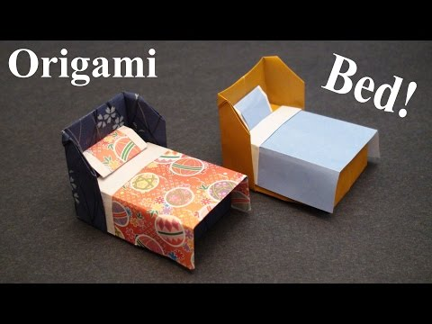 Xxx Mp4 How To Make A Doll House Bed With Bedding Origami Paper Craft TCGames HD 3gp Sex