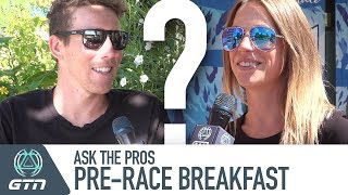 What's Your Pre-Race Breakfast? | GTN Ask The Pros