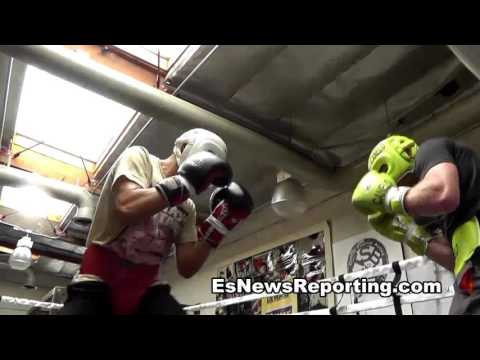 GGG After Sparring Canelo Says He Is A Very Strong Guy Great Champion esnews boxing