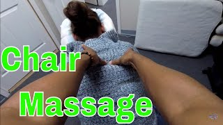 Workers Appreciation Day Chair Massage Events Pt. 2