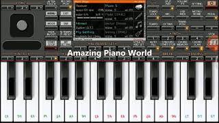 Sanam Re (Arijit Singh) on Mobile Piano