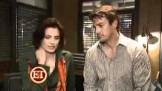 Castle season 1 on set interview