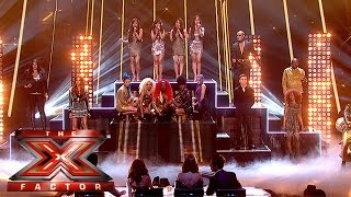 The Finalists return for a special Downtown mash-up | The Final Results | The X Factor 2015